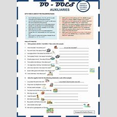 Auxiliaries Do  Does Worksheet  Free Esl Printable Worksheets Made By Teachers