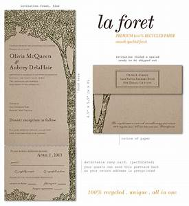 brown paper wedding invitations on 100 recycled paper With wedding invitations recycled brown paper