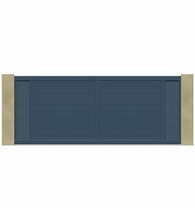Portail Coulissant Motorisé 4m : portail coulissant 3m 4m 5m en t le aluminium ~ Dailycaller-alerts.com Idées de Décoration