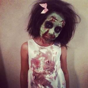 Kids zombie makeup | Zombie Walk for Kids 2013 | Pinterest