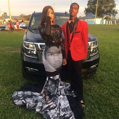 high school basketball stars prom dress pays tribute