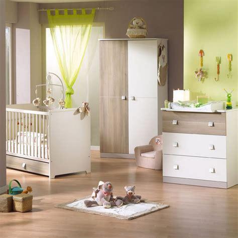 pouf de chambre idee chambre bebe mixte