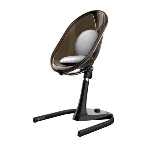 mima moon 2g 3 in 1 high chair all black thetot