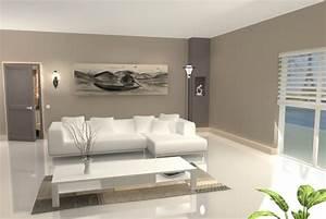 faire du beige en peinture 3 d233co salon peinture With faire du beige en peinture