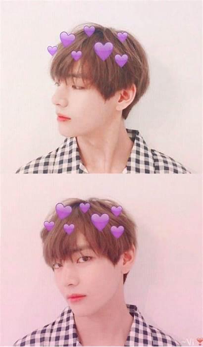 Taehyung Wallpapers Bts Aesthetic Pink Kpop Jungkook