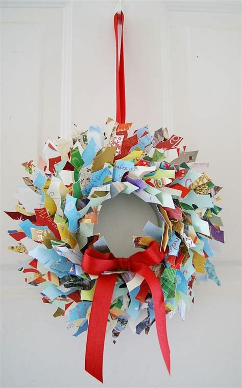recycled christmas crafts for kids 20 brilliant ideas to recycle cards shelterness