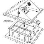 finch bird house plans awesome house finch nest box birds pinterest  home plans design