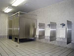 bahtroom big men bathroom with casual stainless steel With how big is a bathroom stall