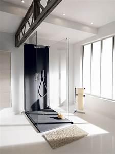 Receveur Salle De Bain : douche avec receveur extra plat quel mod le choisir c t maison ~ Melissatoandfro.com Idées de Décoration