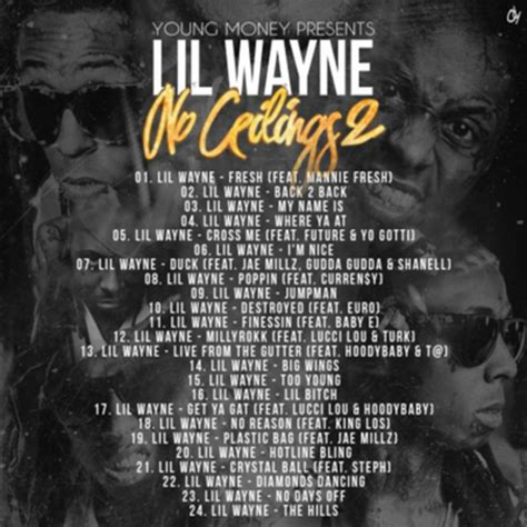 lil wayne no ceilings 2 mixtape musicheadz