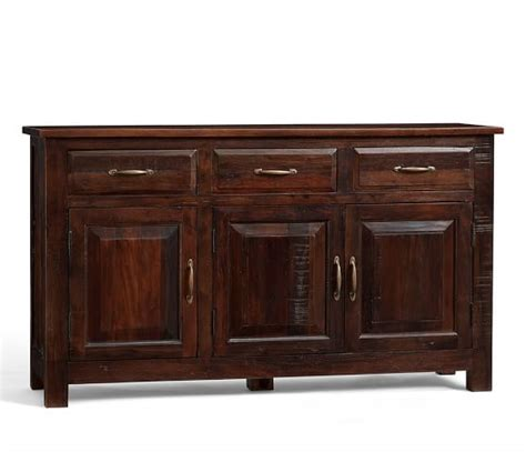 buffet ls pottery barn bowry reclaimed wood buffet pottery barn