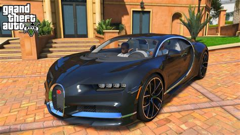 Gta 5 Real Life Mod #199 My New 2017 Bugatti Chiron