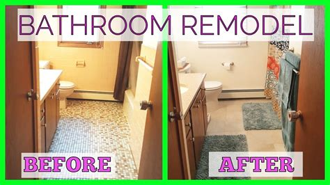 bathroom remodel    diy youtube