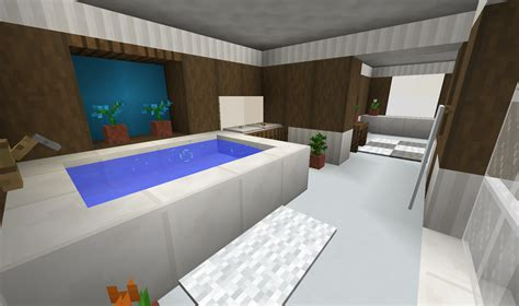 minecraft bathroom ideas modern bathroom minecraft java 1 13 detailcraft