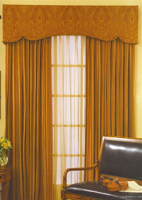 cornice board window treatments padded cornice box with sheers and blackout draperies