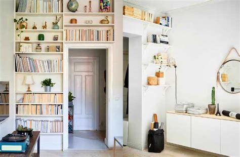 Space Saving Ideas  Storage And Shelving In The Living Room