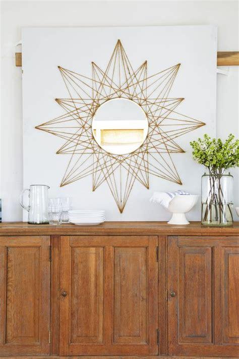 simple mirror diy  upgrade  boring wall