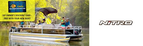 Bass Pro Shops Boat Vip Card nitro bass pro cabela s vip card w nitro boat purchase