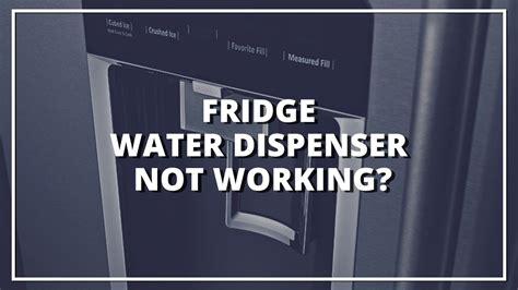 Kitchenaid Refrigerator Water Dispenser Not Working by My Refrigerator Water Dispenser Stopped Working Paper