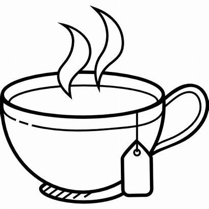 Tea Cup Coffee Mug Clipart Drink Coloring