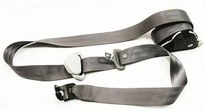 Rh Front Seatbelt Vw Jetta Golf Mk4 Seat Belt Gray