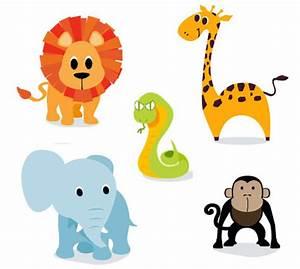 Cute Cartoon Jungle Animals | Clipart Panda - Free Clipart ...
