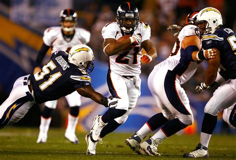 Tatum Bell In Denver Broncos V San Diego Chargers 3 Of 5