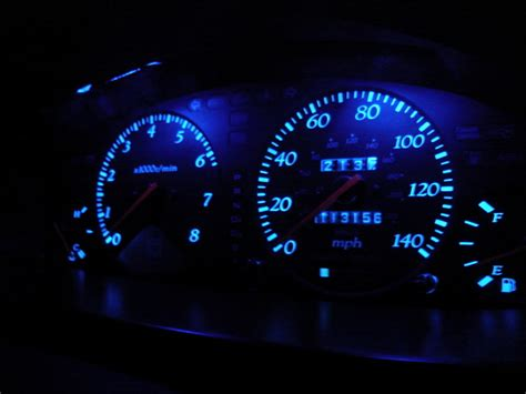honda accord dash lights how do i make my stock dash lights blue with out getting
