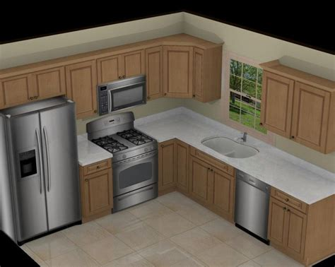 Fresh L Kitchen Layout Throughout 18 Contemporary L #5771