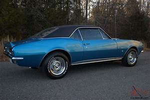1967 Chevrolet Camaro Rs Ss Numbers Matching 350 V8 12