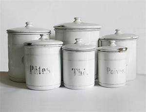 french enamel canisters 6 vintage enamelware white kitchen With best brand of paint for kitchen cabinets with union jack canvas print wall art