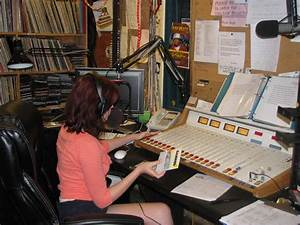 WVFS Broadcast Booth – College of Communication & Information
