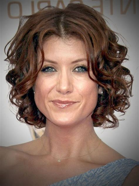 short hairstyles for curly hair and round face haircut
