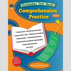 Strategies That Work Comprehension Practice, Grade 5  Tcr8045  Teacher Created Resources