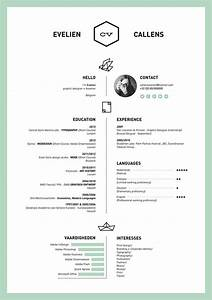 27 magnificent cv designs that will outshine all the for Free resume layout templates