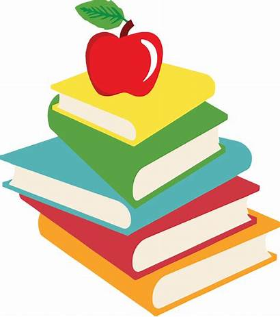 Books Clipart Clip Cliparts Homework Schoolbooks Library