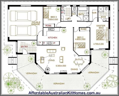 ranch style house plans australia unique australian house plans   garage layout