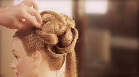 how to style your hair up easy wedding upstyle with curls 1549