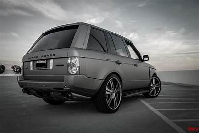 Range Grey Matte Aluminum Rover Overfinch Sc
