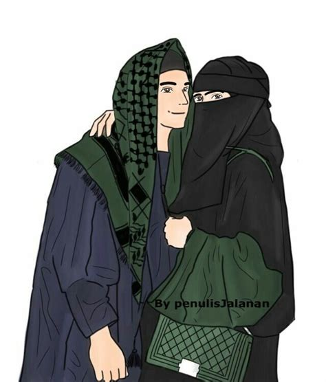 islamic anime ve tesettuer cift cizimleri guezel anime kiz