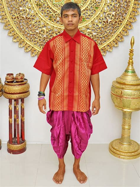 male thai costume loincloth page  wedding ceremony