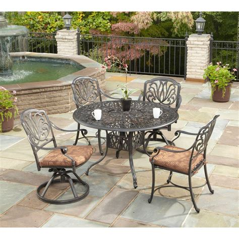 home depot garden table patio dining furniture