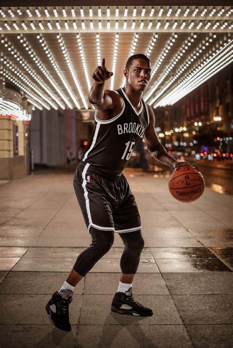 basketball portraits  paninis nba rookie photoshoot