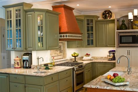 how much does it cost to remodel a green kitchen cabinets kitchen traditional with bar sink
