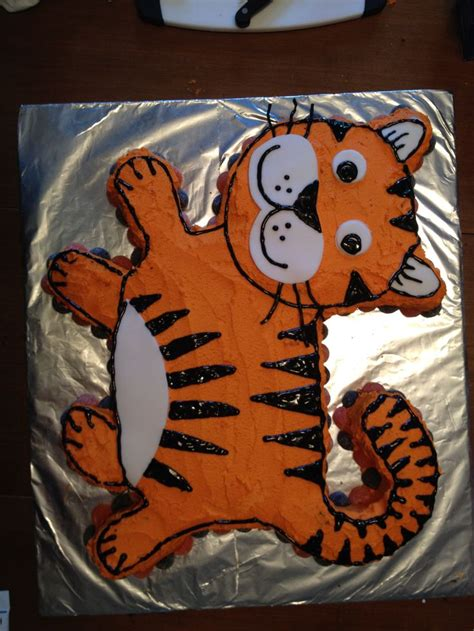 tigger birthday cake template tiger cake ideas pictures to pin on pinterest pinsdaddy
