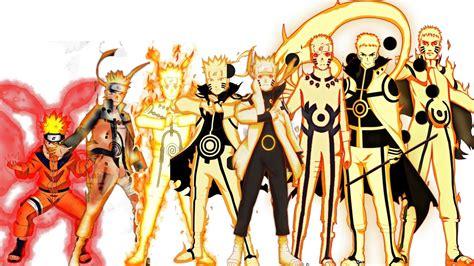 naruto all characters evolution