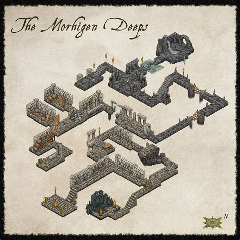 Making 3d Dungeon Tiles by Cartographer S Annual June Fantasy Maps