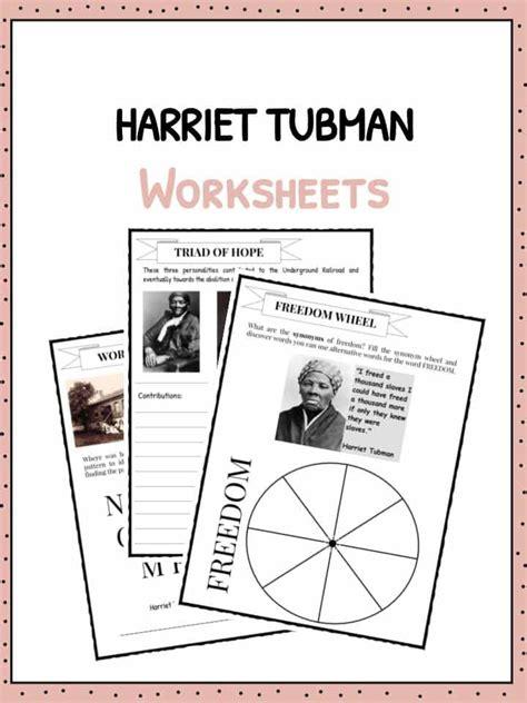 Harriet Tubman Facts, Information & Worksheets For Kids