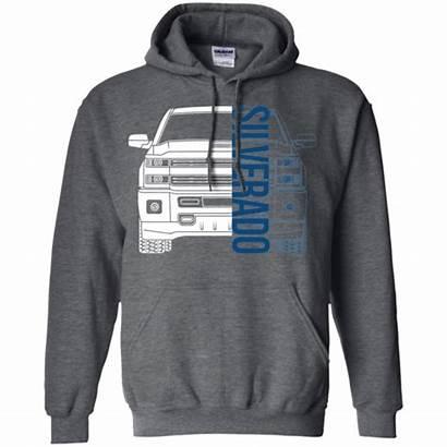 Silverado Gmc Hoodie Trucks Chevy Sweatshirts Wheelspinaddict