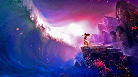 fantasy ocean  women magic wallpapers